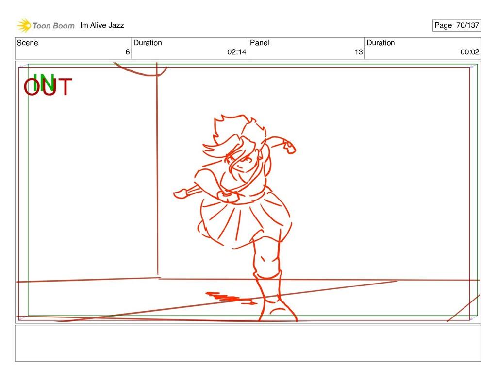 Scene 6 Duration 02:14 Panel 13 Duration 00:02 ...