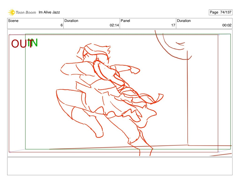 Scene 6 Duration 02:14 Panel 17 Duration 00:02 ...