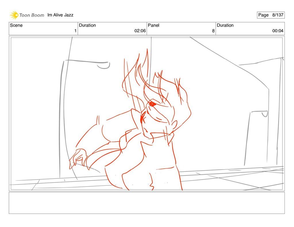 Scene 1 Duration 02:06 Panel 8 Duration 00:04 I...