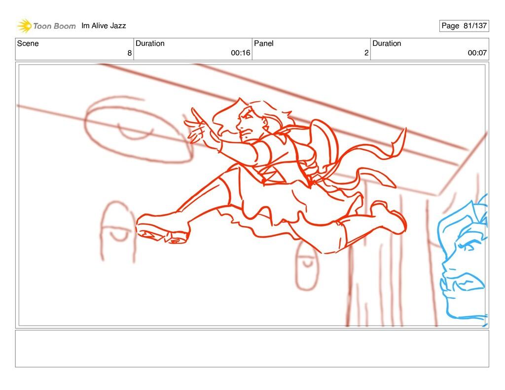 Scene 8 Duration 00:16 Panel 2 Duration 00:07 I...