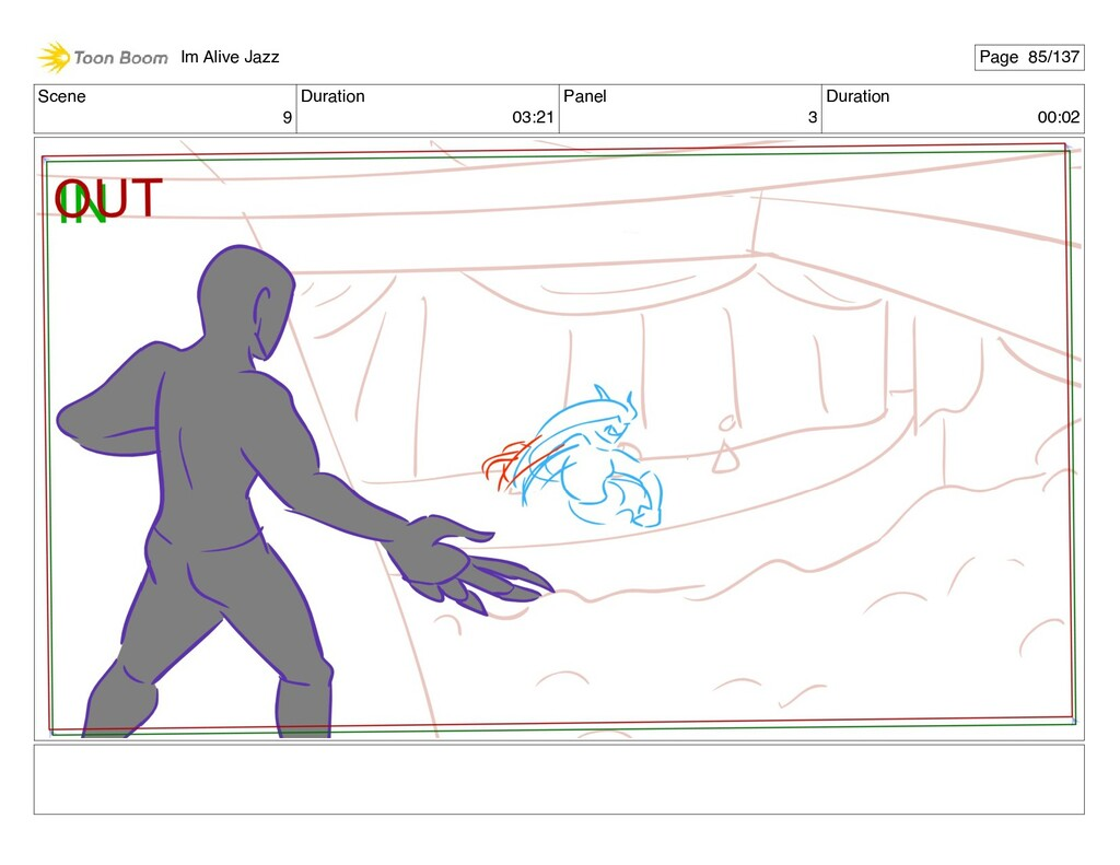 Scene 9 Duration 03:21 Panel 3 Duration 00:02 I...