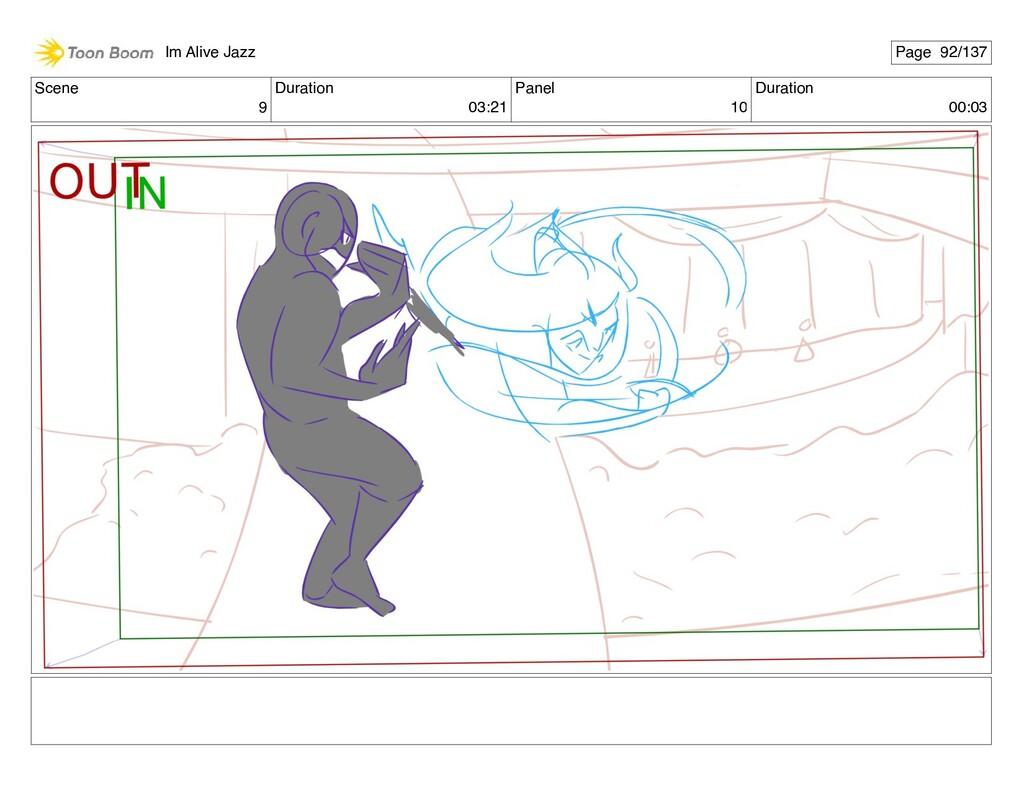 Scene 9 Duration 03:21 Panel 10 Duration 00:03 ...