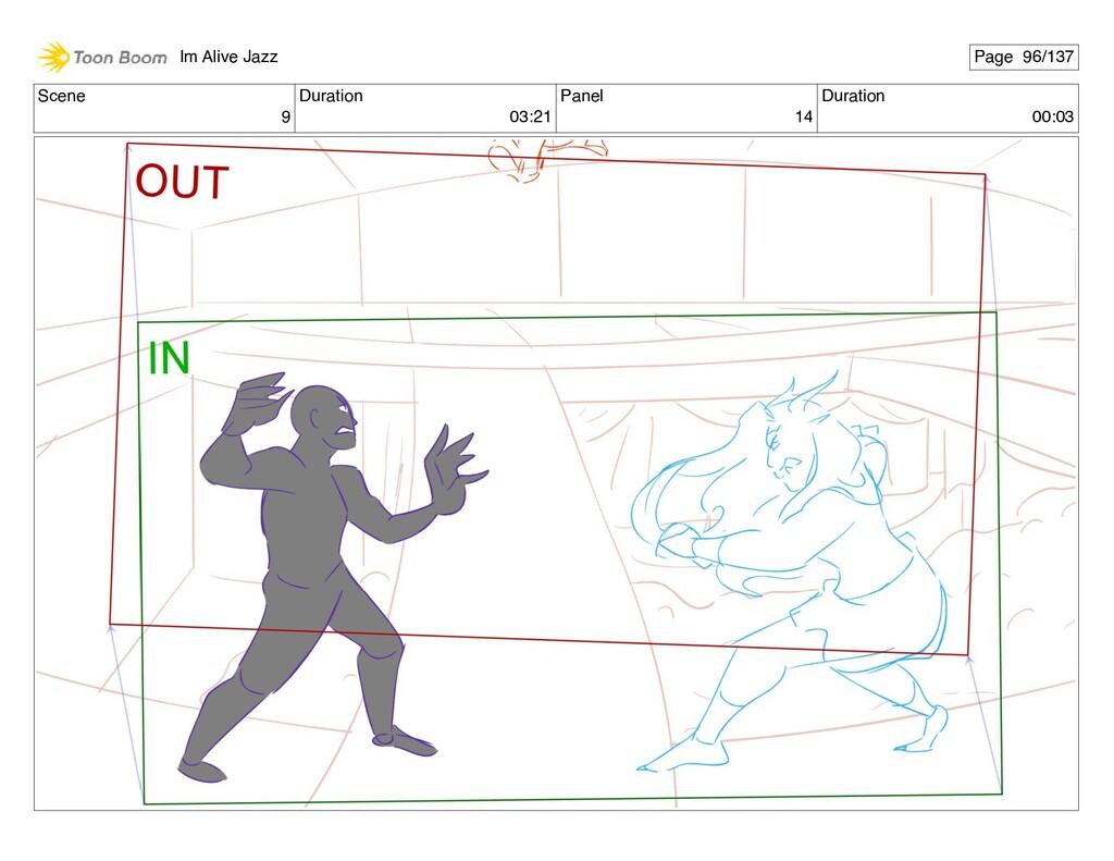 Scene 9 Duration 03:21 Panel 14 Duration 00:03 ...