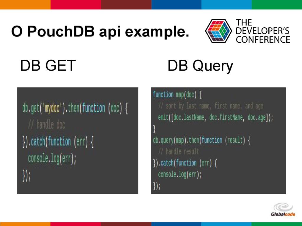 pen4education O PouchDB api example. DB GET DB ...