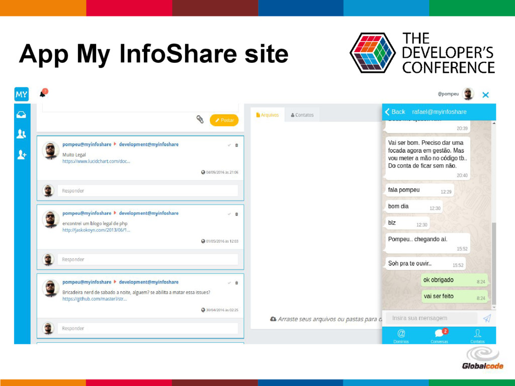 pen4education App My InfoShare site
