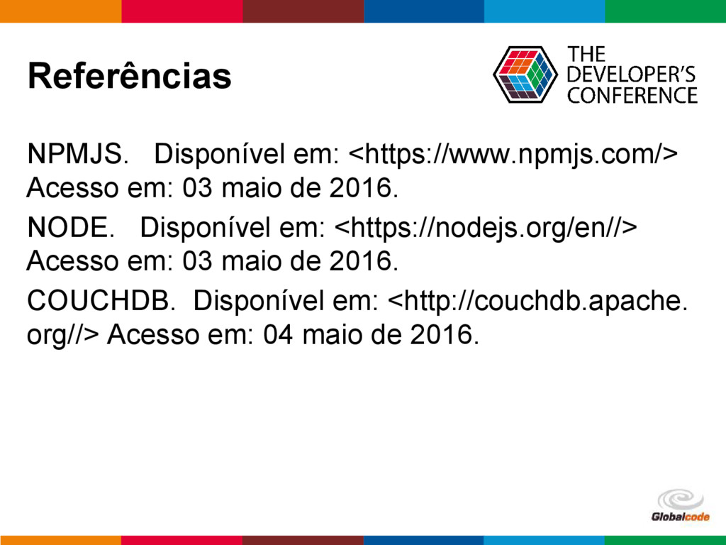 pen4education Referências NPMJS. Disponível em:...
