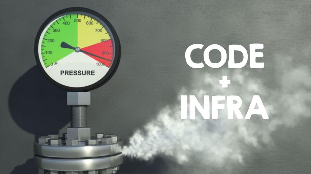 CODE + INFRA