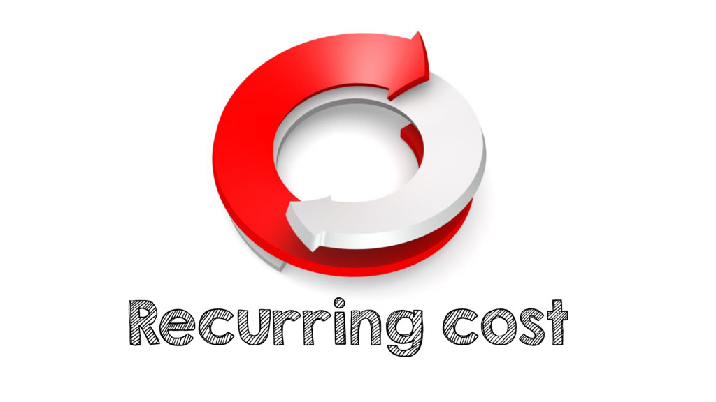 Recurring cost