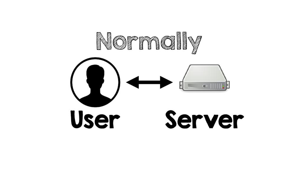 Normally User Server