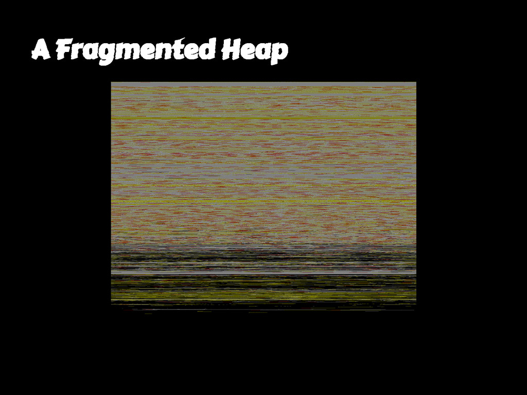 A Fragmented Heap
