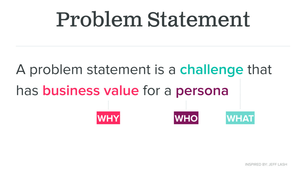 Problem Statement A problem statement is a chal...