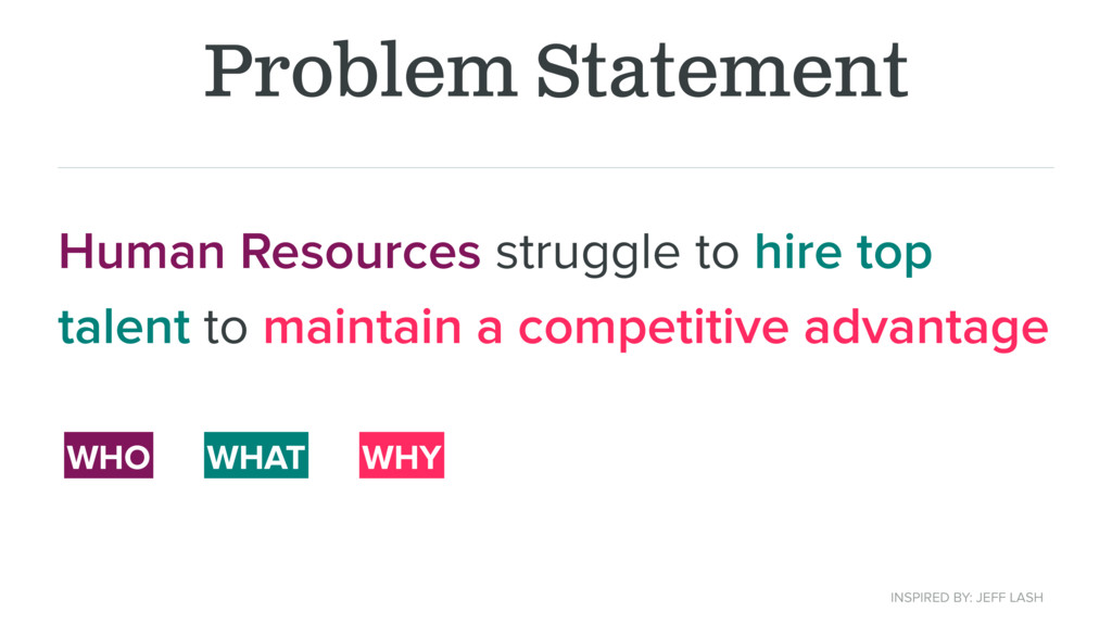 Problem Statement Human Resources struggle to h...