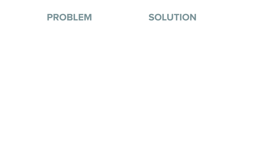 Title (H1) PROBLEM SOLUTION