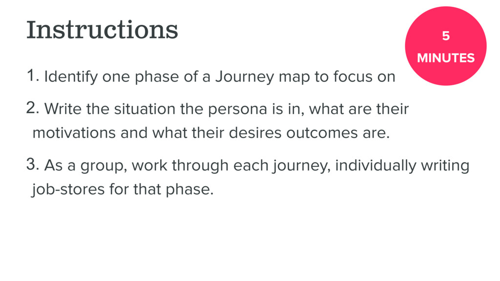 Instructions 1. Identify one phase of a Journey...