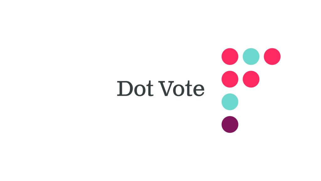 Dot Vote