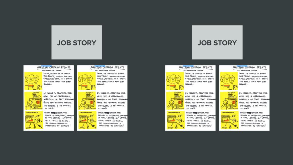 JOB STORY JOB STORY