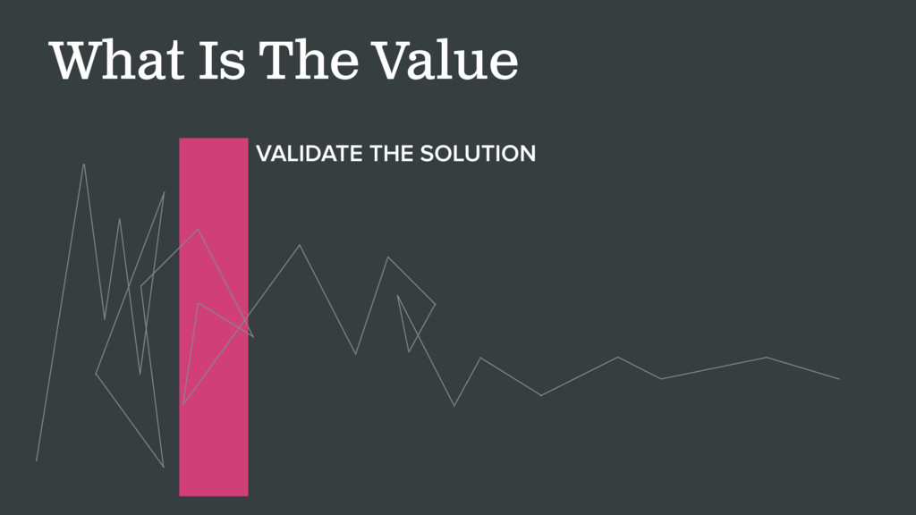 What Is The Value VALIDATE THE SOLUTION
