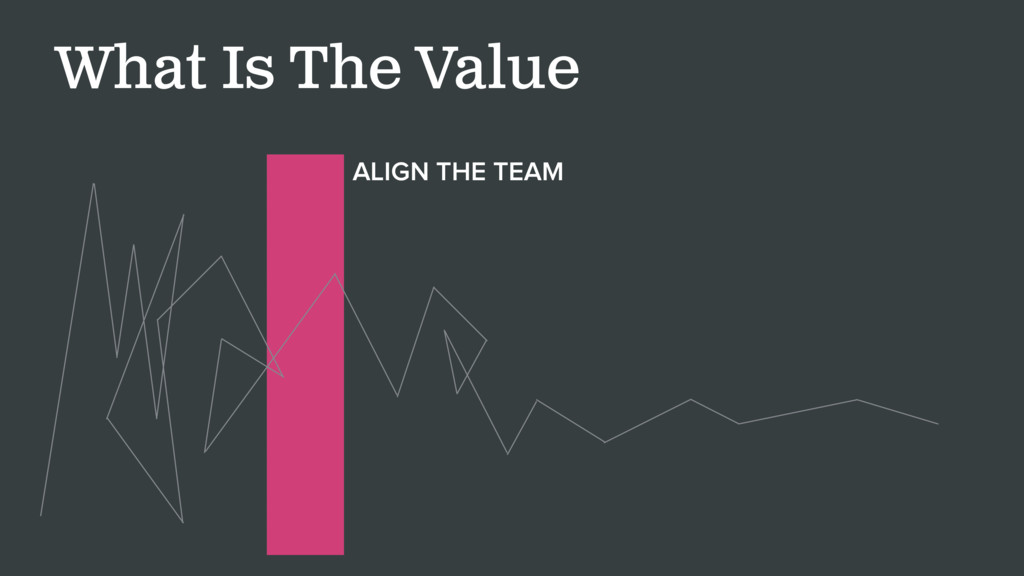 What Is The Value ALIGN THE TEAM