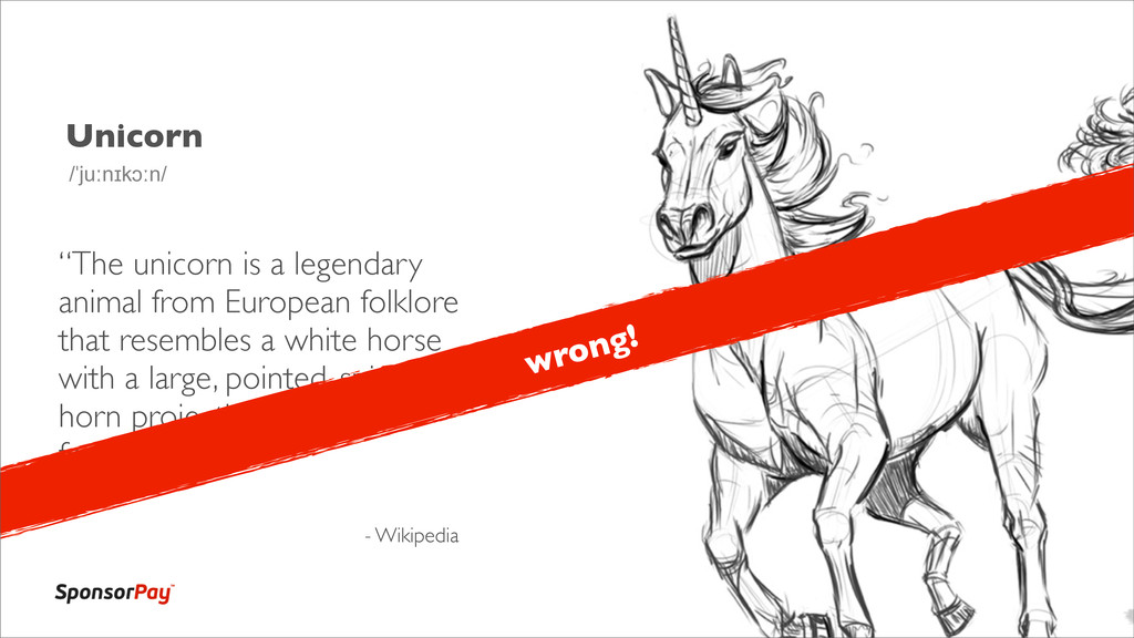 "Unicorn ""The unicorn is a legendary animal from..."