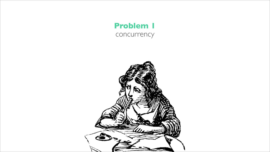 Problem 1 concurrency