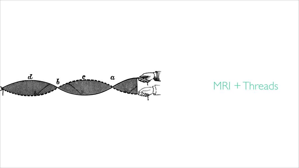 MRI + Threads