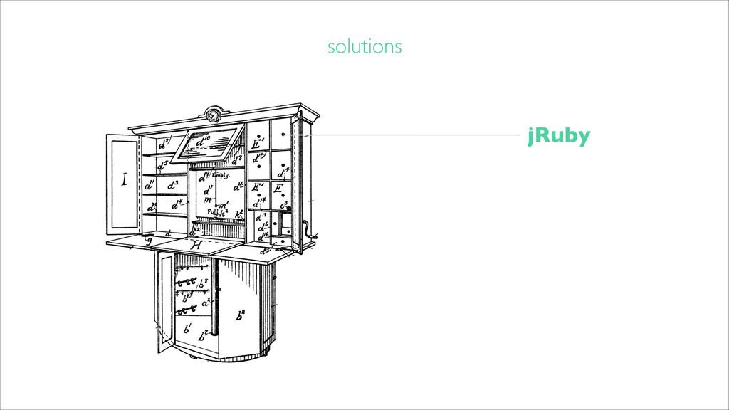 solutions jRuby