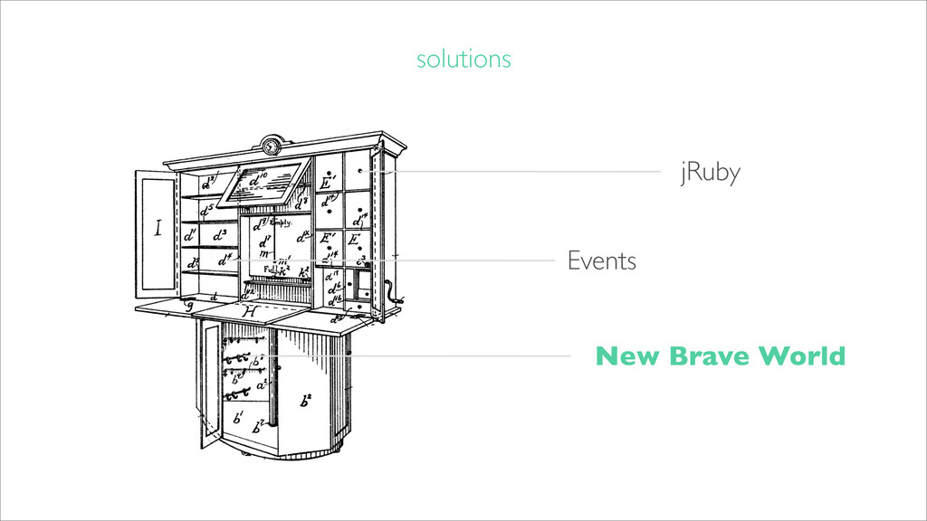 solutions jRuby Events New Brave World