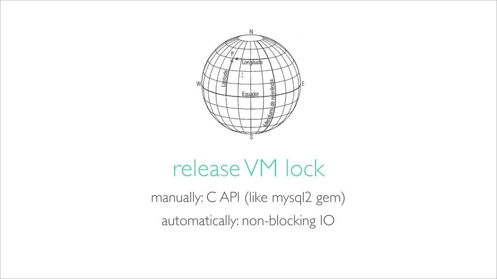 manually: C API (like mysql2 gem) release VM lo...