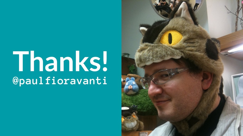 Thanks! @paulfioravanti