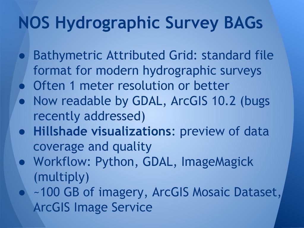 ● Bathymetric Attributed Grid: standard file fo...