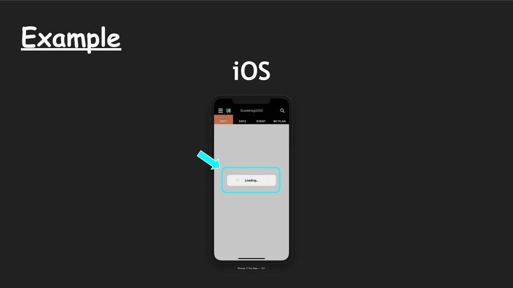 Example iOS
