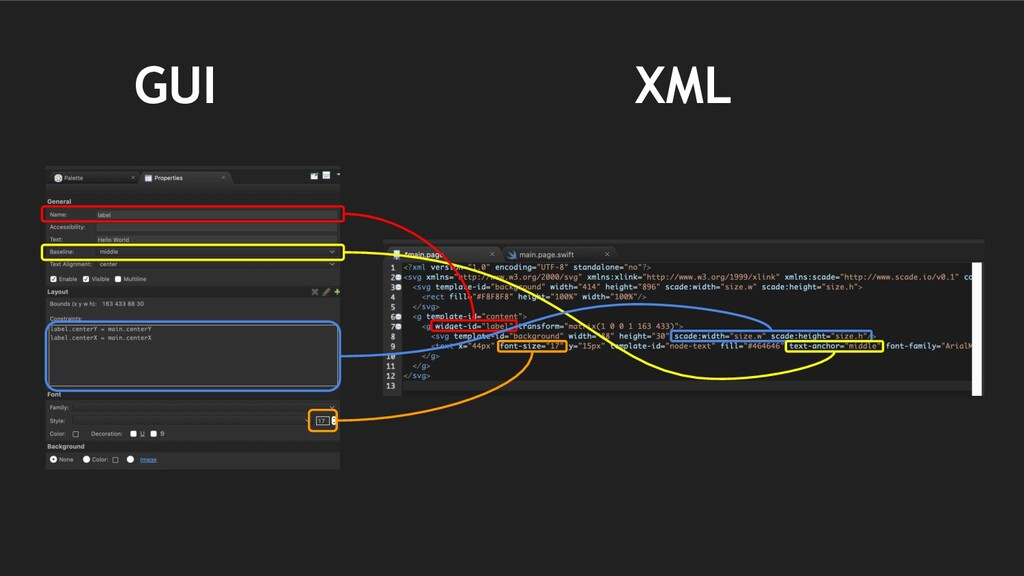GUI XML