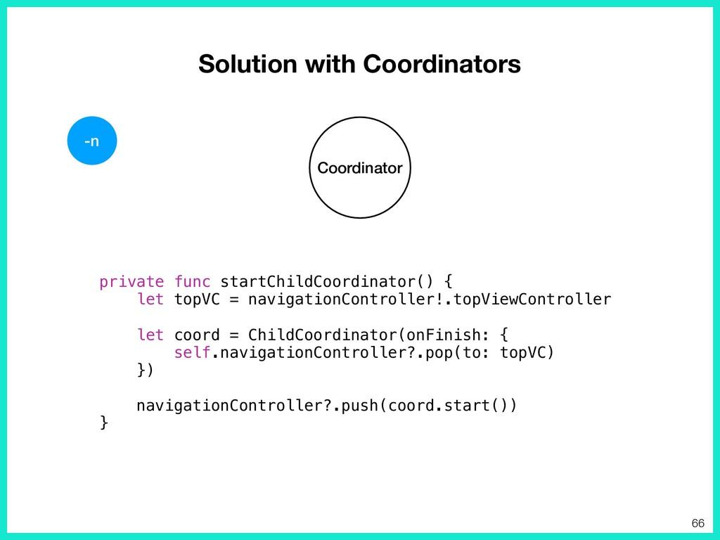 Solution with Coordinators Coordinator private ...