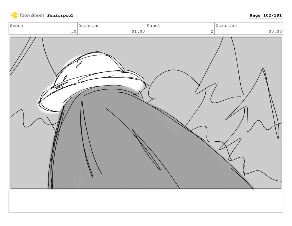 Scene 30 Duration 01:03 Panel 2 Duration 00:06 ...