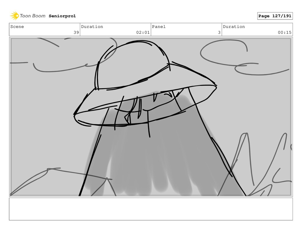 Scene 39 Duration 02:01 Panel 3 Duration 00:15 ...