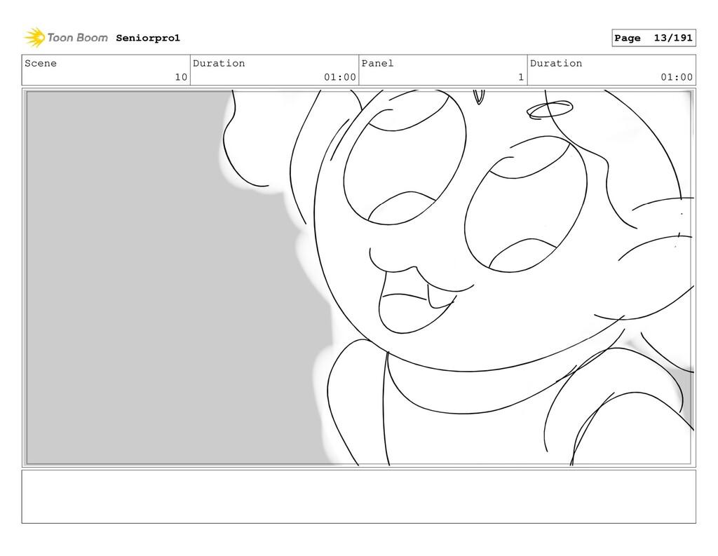 Scene 10 Duration 01:00 Panel 1 Duration 01:00 ...