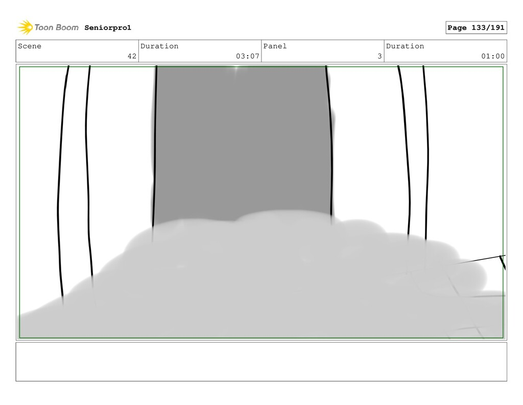 Scene 42 Duration 03:07 Panel 3 Duration 01:00 ...
