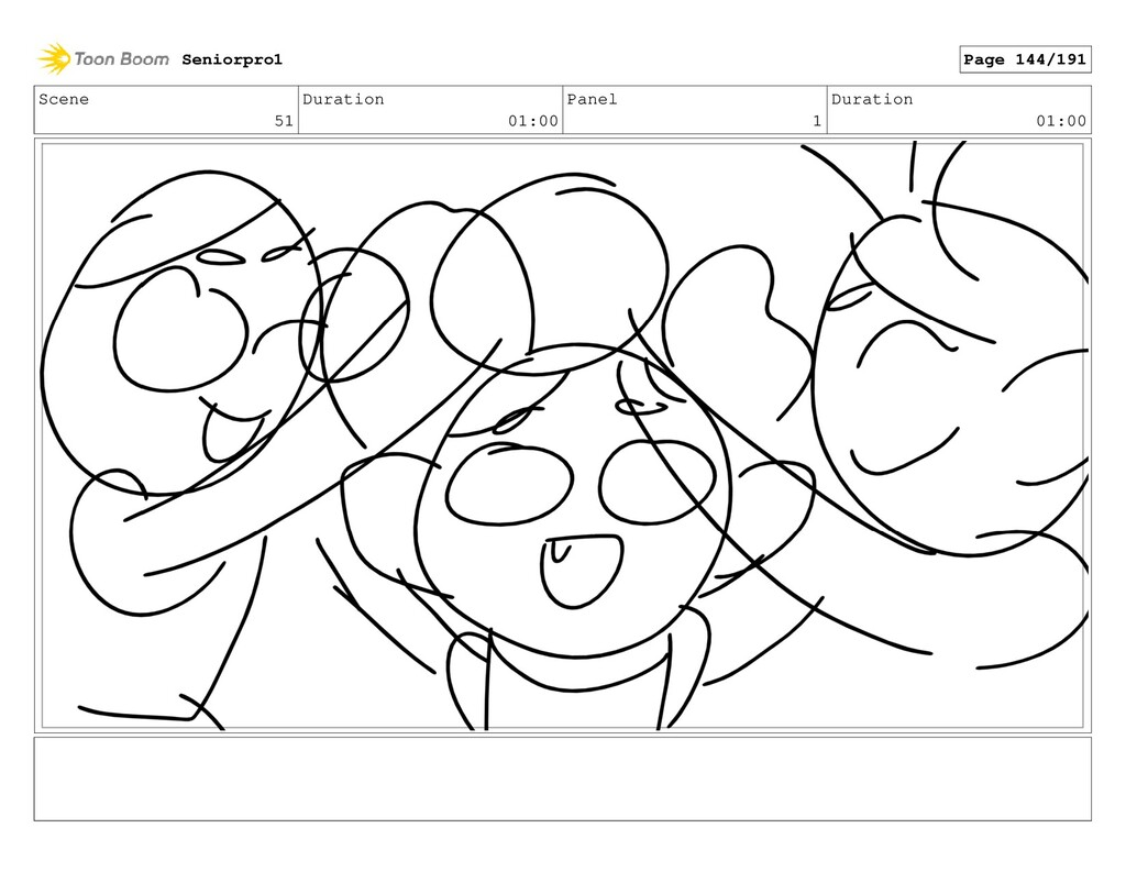 Scene 51 Duration 01:00 Panel 1 Duration 01:00 ...