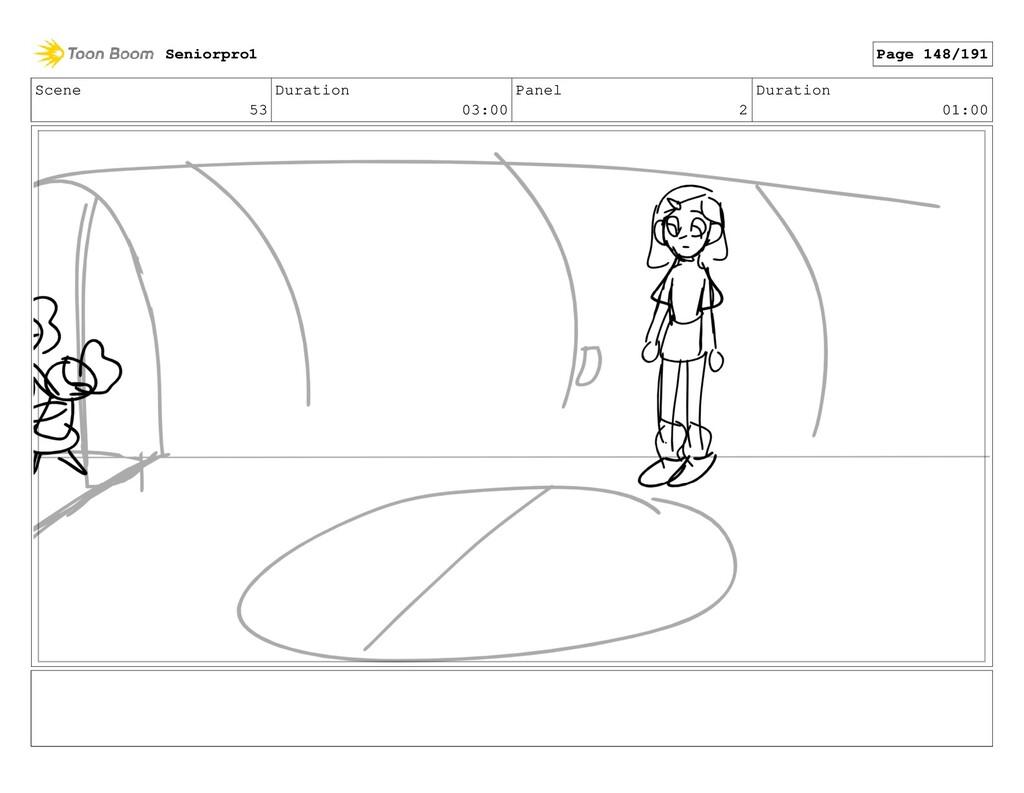 Scene 53 Duration 03:00 Panel 2 Duration 01:00 ...