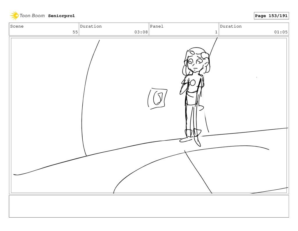 Scene 55 Duration 03:08 Panel 1 Duration 01:05 ...