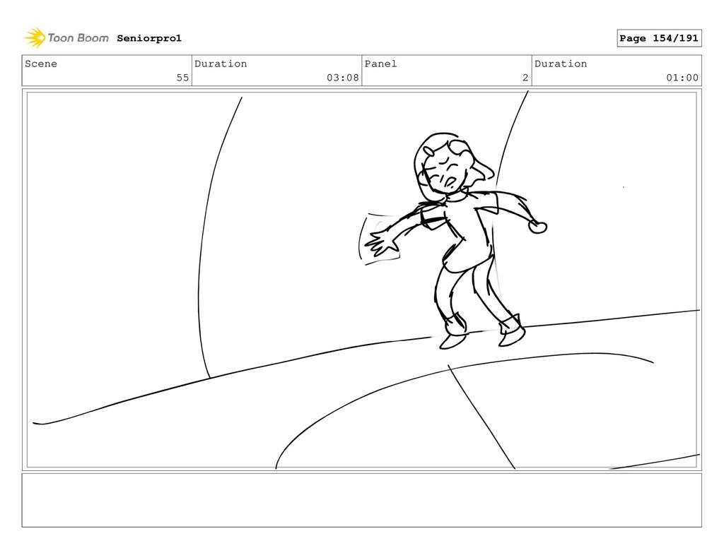 Scene 55 Duration 03:08 Panel 2 Duration 01:00 ...