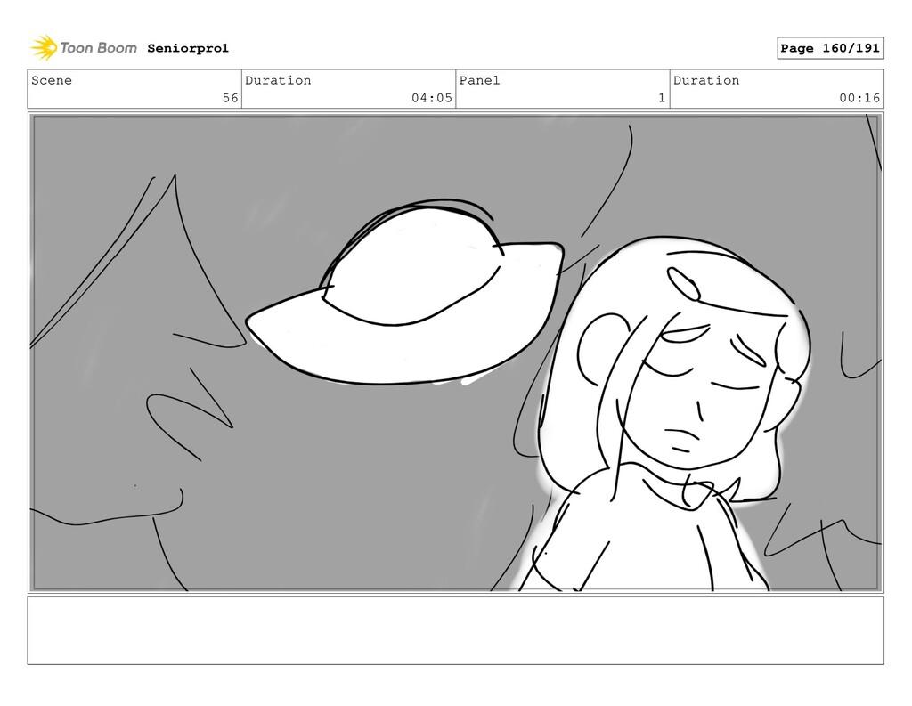 Scene 56 Duration 04:05 Panel 1 Duration 00:16 ...