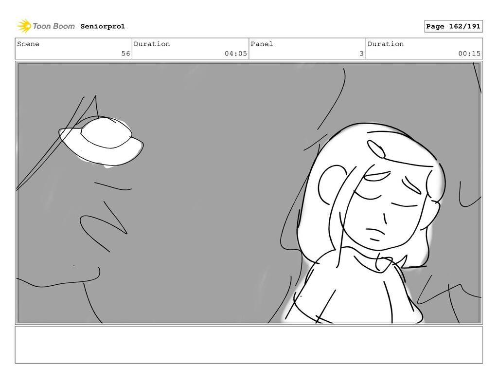 Scene 56 Duration 04:05 Panel 3 Duration 00:15 ...