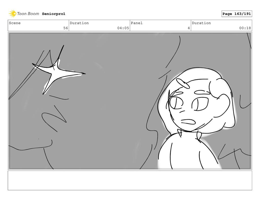 Scene 56 Duration 04:05 Panel 4 Duration 00:18 ...