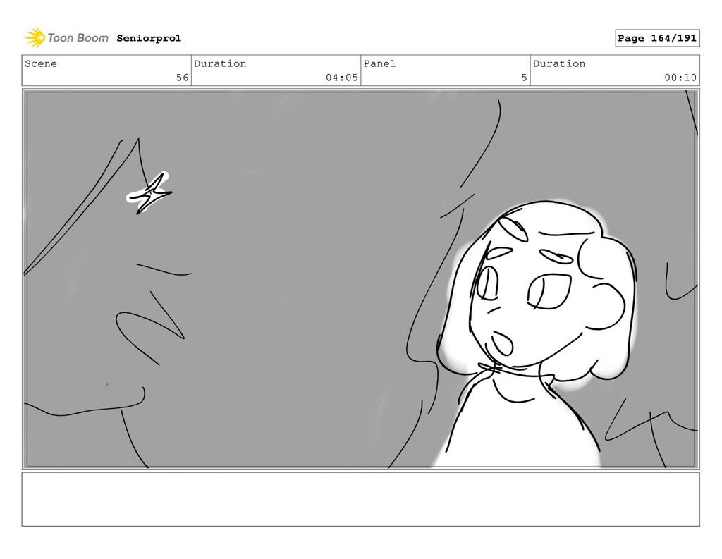Scene 56 Duration 04:05 Panel 5 Duration 00:10 ...