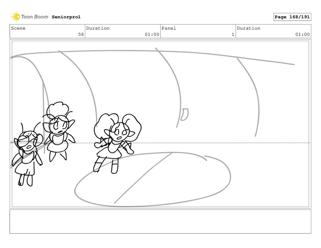 Scene 58 Duration 01:00 Panel 1 Duration 01:00 ...