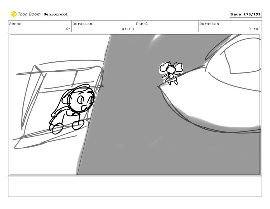 Scene 65 Duration 01:00 Panel 1 Duration 01:00 ...