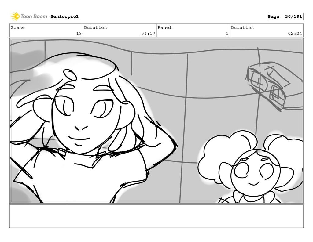 Scene 18 Duration 04:17 Panel 1 Duration 02:04 ...