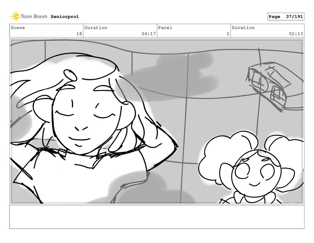 Scene 18 Duration 04:17 Panel 2 Duration 02:13 ...
