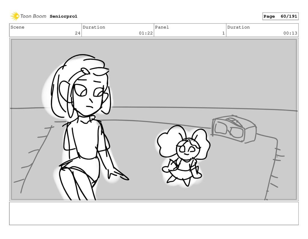 Scene 24 Duration 01:22 Panel 1 Duration 00:13 ...